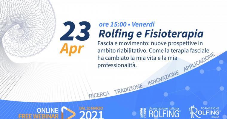 Webinar Rolfing e Fisioterapia