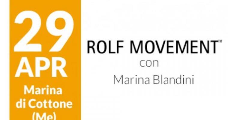 Rolf Movement con Marina Blandini - Marina di Cottone - (Sicilia)