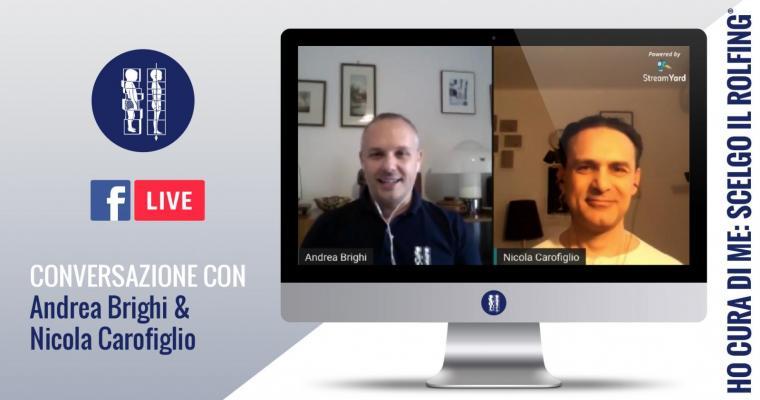 Conversazione con Andrea Brighi & Nicola Carofiglio