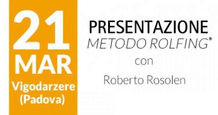 Presentazione del Metodo Rolfing® - Padova