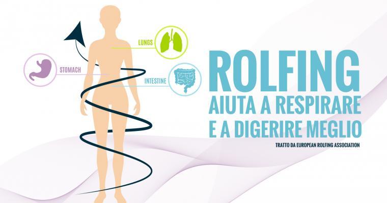 Il Rolfing® aiuta a respirare e a digerire meglio