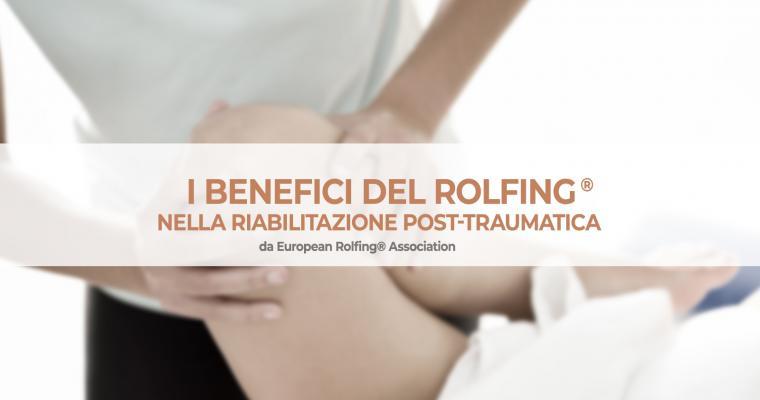Rolfing:® consigliato per la riabilitazione post-traumatica
