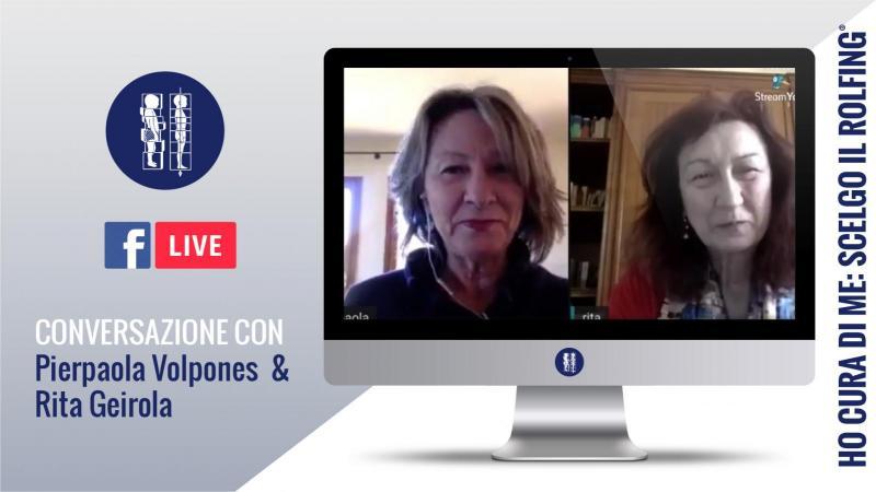 Conversazione con Rita Geirola e Pierpaola Volpones insegnanti internazionali di Rolfing®