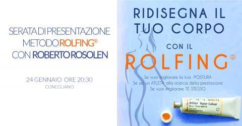 Conegliano - Presentazione del Metodo Rolfing®