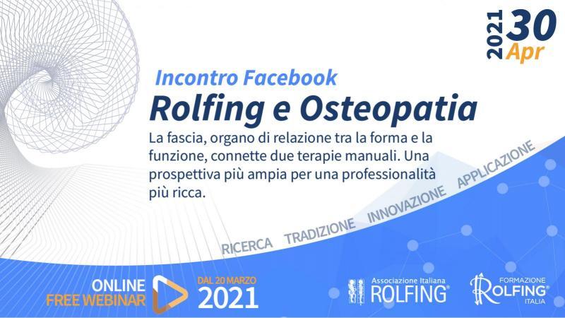 VIDEO ROLFING E OSTEOPATIA